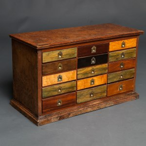 Antique collectors cabinet 1