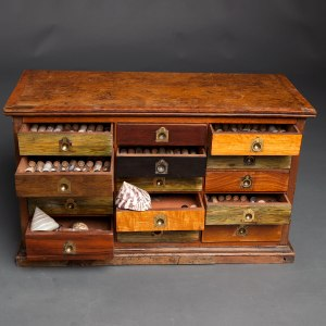 Antique collectors cabinet 4