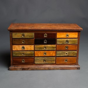Antique collectors cabinet