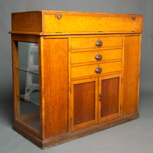 Antique Waterman counter display cabinet 11