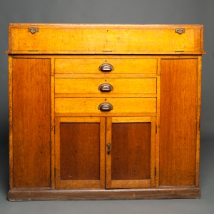Antique Waterman counter display cabinet 13