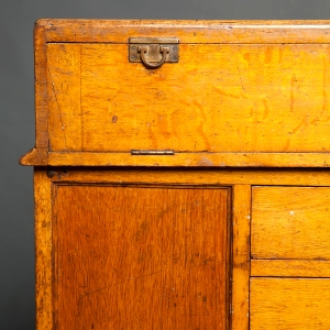 Antique Waterman counter display cabinet 14