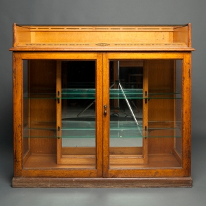 Antique Waterman counter display cabinet 2