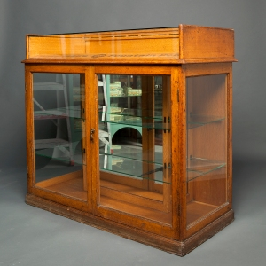 Antique Waterman counter display cabinet 9