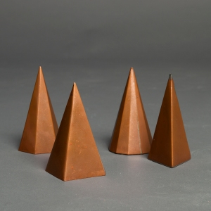 Brass geometrical solids 5