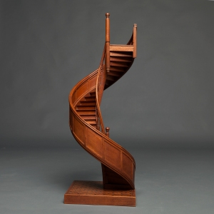 antique-apprentice-spiral-staircase-architects-model-1c