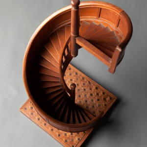 antique-apprentice-spiral-staircase-architects-model-2